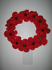 Poppy wreath