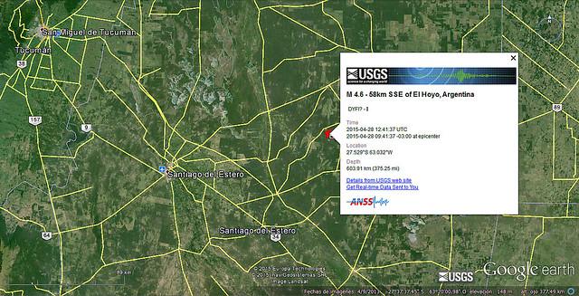 Sismo SDE 28042015
