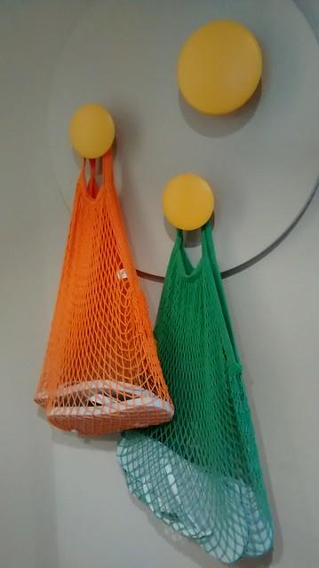 thongs in string bags