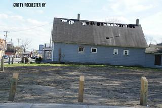 Urban decay in Rochester New York