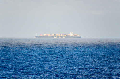 MSC container vessel