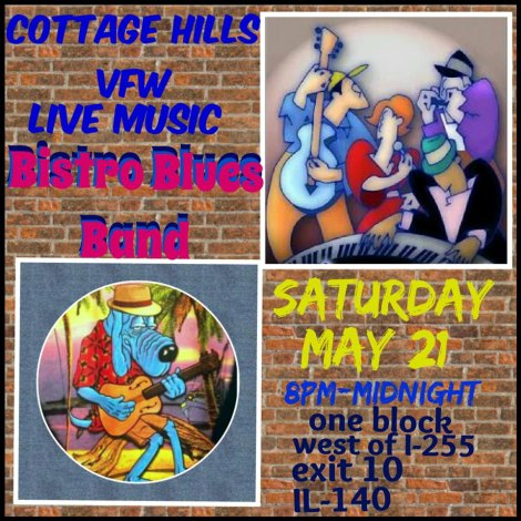Bistro Blues Band 5-21-16