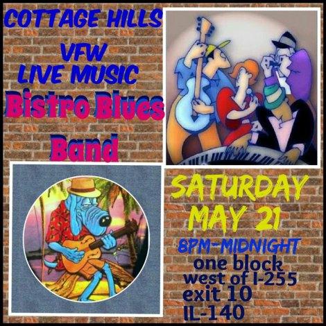 Bistro Blues Band 5-21-16