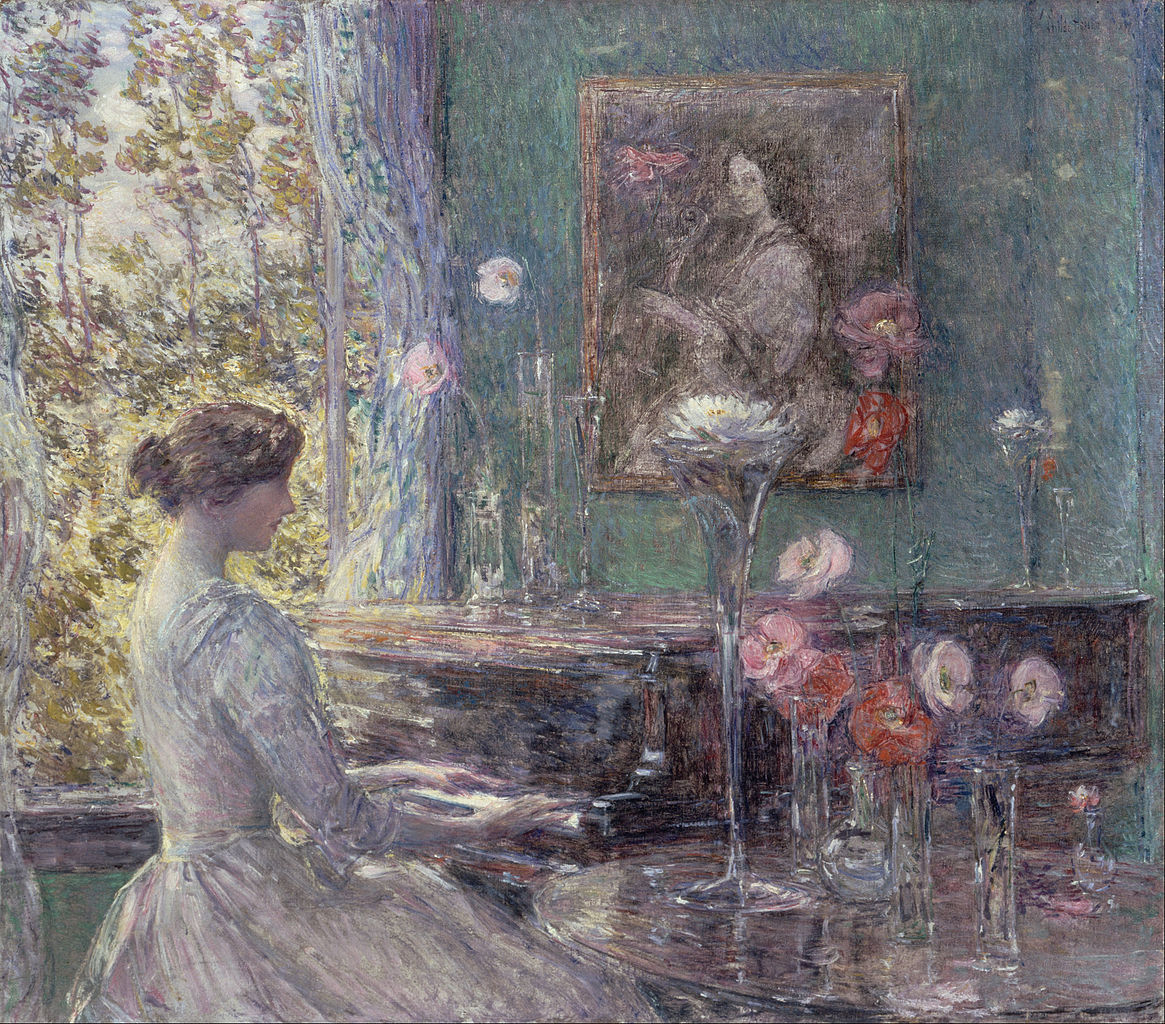 Improvisation by Childe Hassam, 1899
