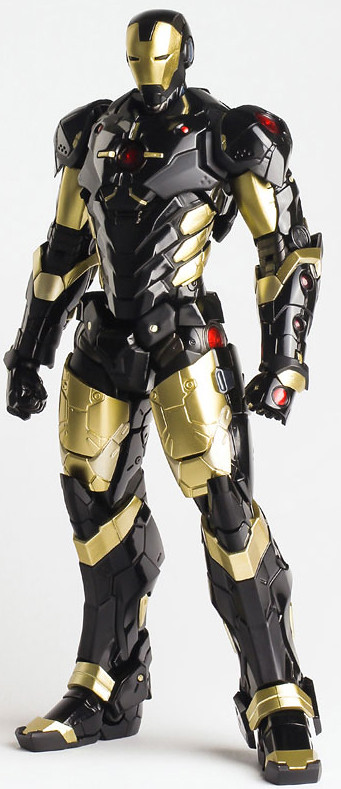 千值練 - RE:EDIT IRON MAN 第6彈:MARVEL NOW!ver. BLACK × GOLD