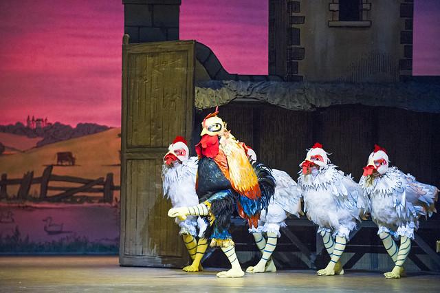 The Royal Ballet in La Fille mal gardée © 2016 ROH. Photograph by Tristram Kenton