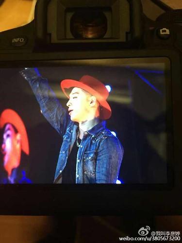 TaeYang - V.I.P GATHERING in Harbin - 21mar2015 - 我叫李彦婷 - 01
