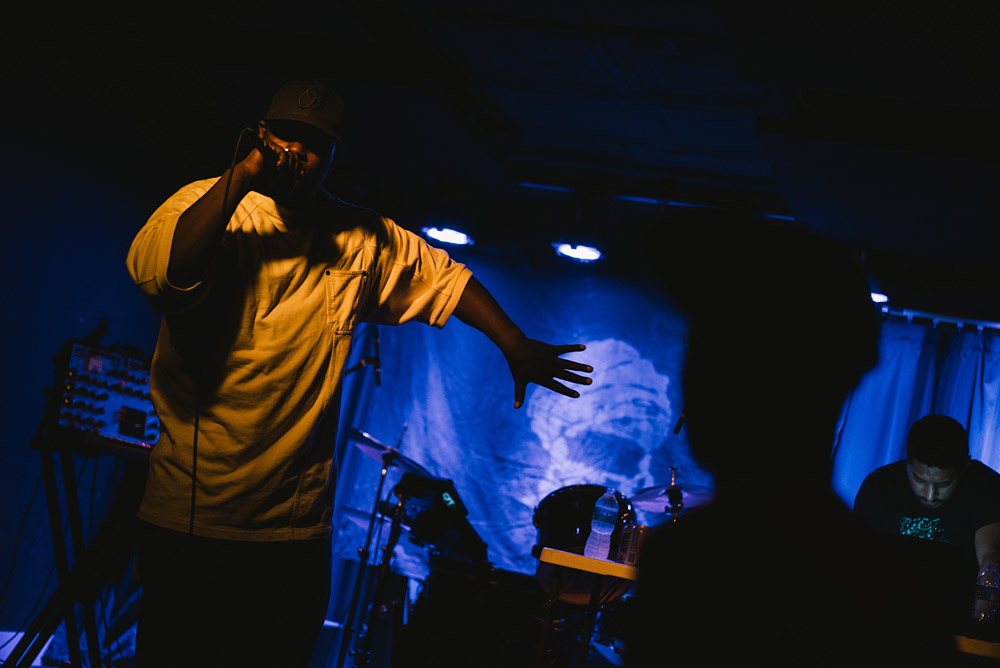 Young Fathers @ Boot & Saddle 11/04/15