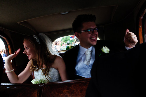 Peter&Hannah in the Alvis
