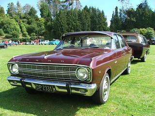 1967 Ford Fairmont XR Sedan & Trailer