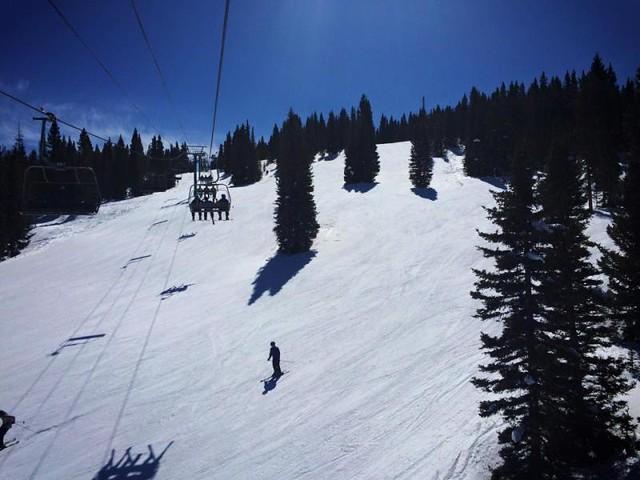 Purgatory spring skiing