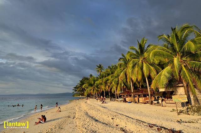 Dayang Beach at sundown