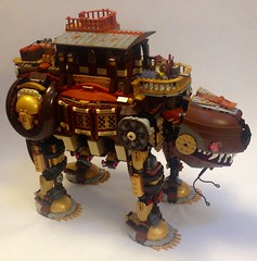 Steampunk walker