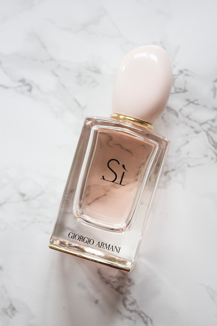 Giorgio Armani Si Perfume Definitely Lovely Uk Lifestyle Blog