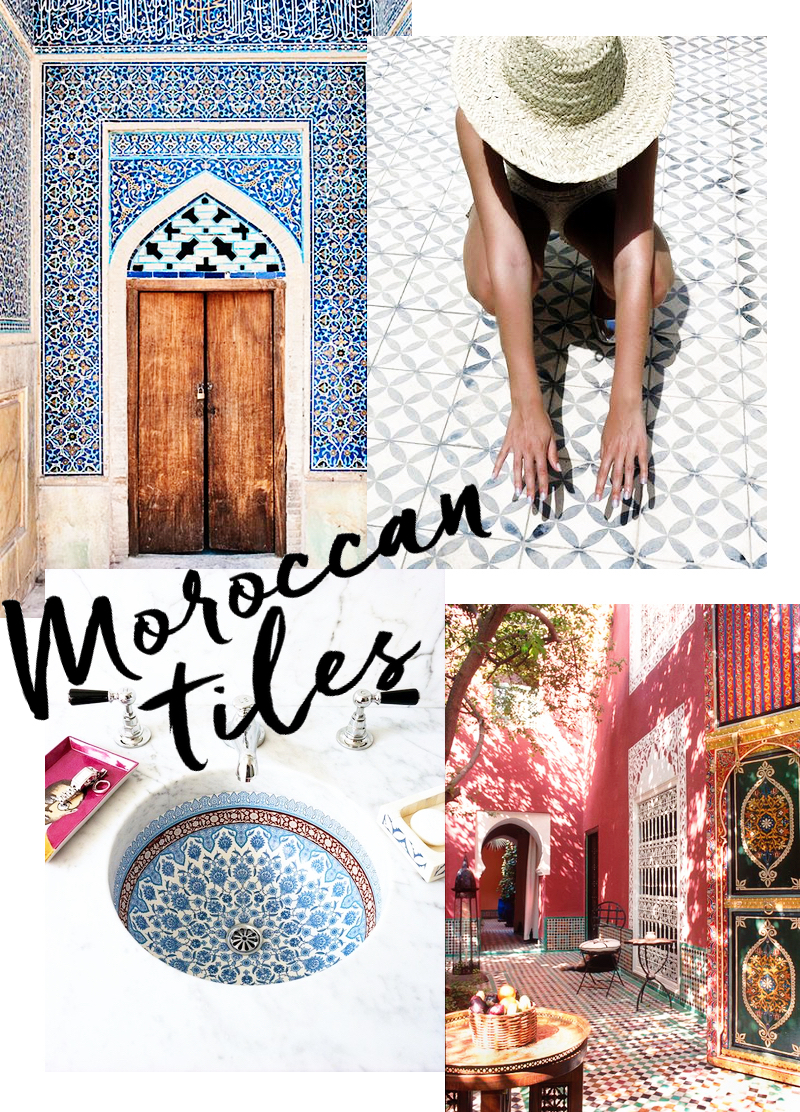 Moroccan Tiles | Bougeotte