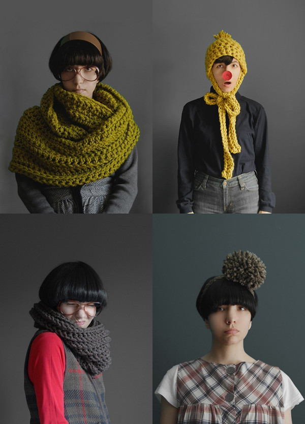 Crochet accessories designed by Yokoo | Emma Lamb