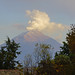 Smoke over Popocatepetl volcano, Mexico por Andrey Sulitskiy