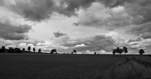 Wolken über der Oberpfalz