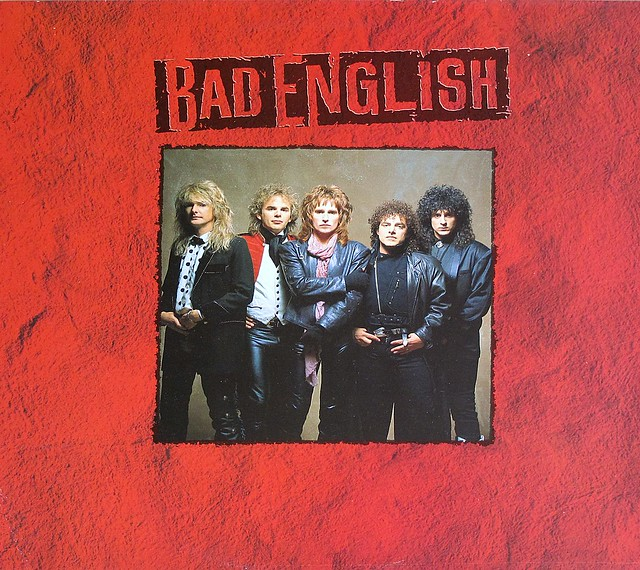 "BAD ENGLISH S/T SELF-TITLED DEBUT ALBUM 12"" LP VINYL"