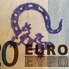 If you ever find a euro-bill marked with a #firesalamander like this, please send me a message. I know the guy who is doing this for years now. #salamander #euro