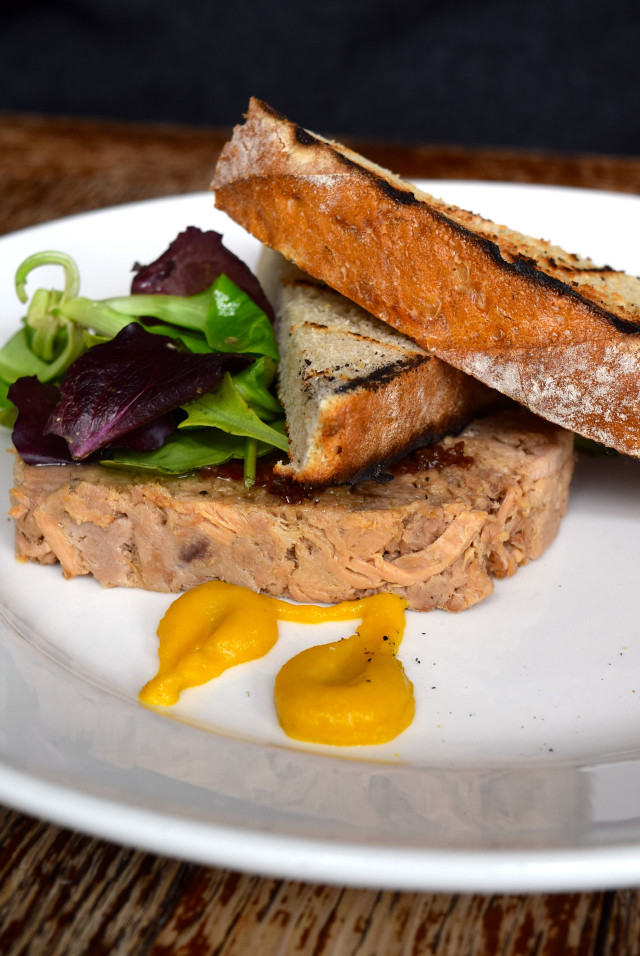 Pork Terrine at Wyatt and Jones, Broadstairs | www.rachelphipps.com @rachelphipps