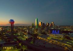 Dallas from 400 feet 2