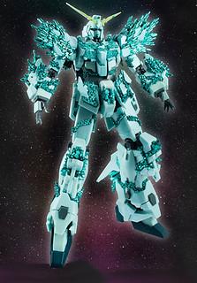 ROBOT魂 〈SIDE MS〉 《機動戰士鋼彈UC》獨角獸鋼彈 ユニコーンガンダム(結晶體Ver.)