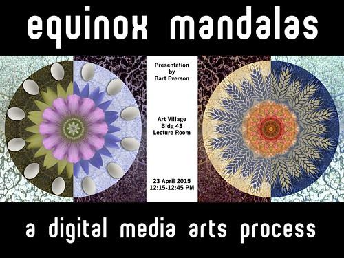 Equinox Mandalas Talk Promo
