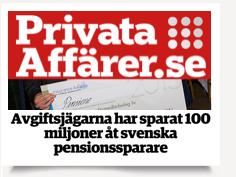 Avgiftsjägare sparat 100 miljoner
