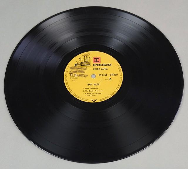 """FRANK ZAPPA HOT RATS REPRISE TELDEC FOC 12"""" LP VINYL"""