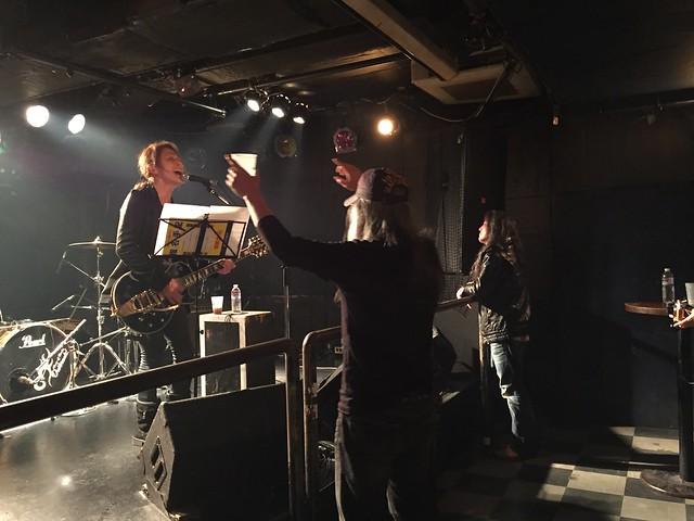 時代という名の踏絵 solo live at Outbreak, Tokyo, 20 Apr 2015. iphone 2877
