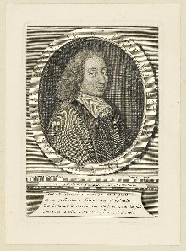 Bildnis des Blaise Pascal