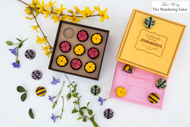 John & Kira's Chocolates - Ladybug & Bee and Wildflower Collections