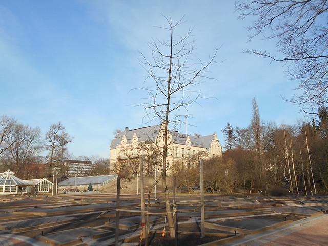 Helsingin Kaisaniemen kasvitieteellisen puutarhan remontti - Tilannetta 19.3.2015 I