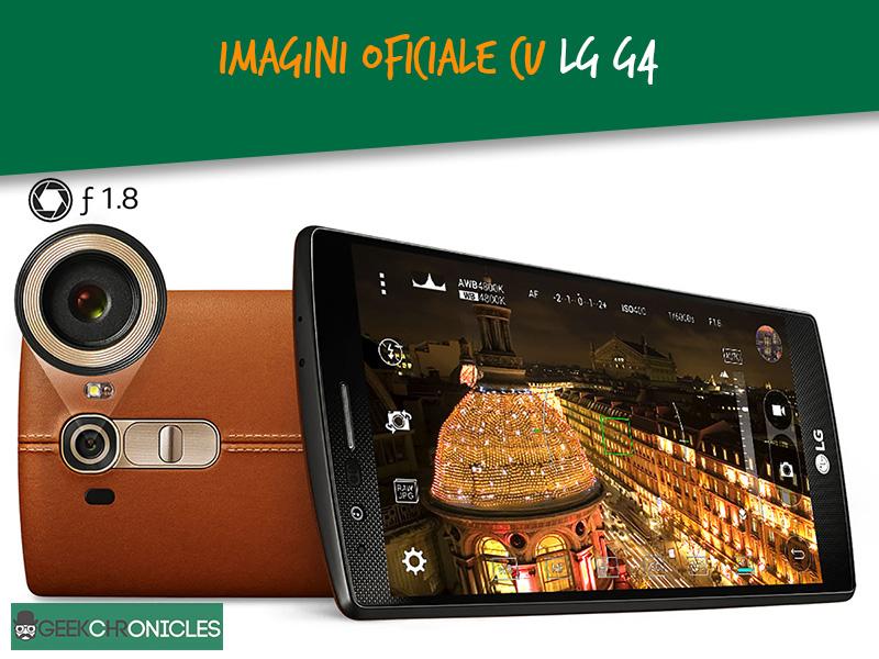Imagini oficiale cu LG G4
