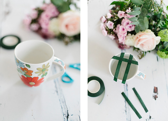 Flower Mug DIY What Olivia Did