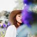 Blue Flowers by Yuliya Bahr