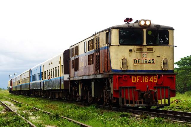 DF1645 at ABYA station