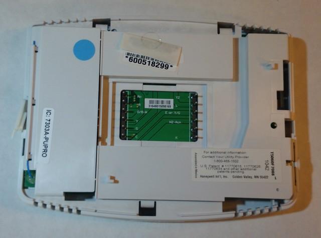 Honeywell Thermostat Teardown