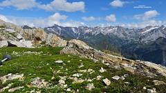 Having a break - Sentiero degli Stambecchi