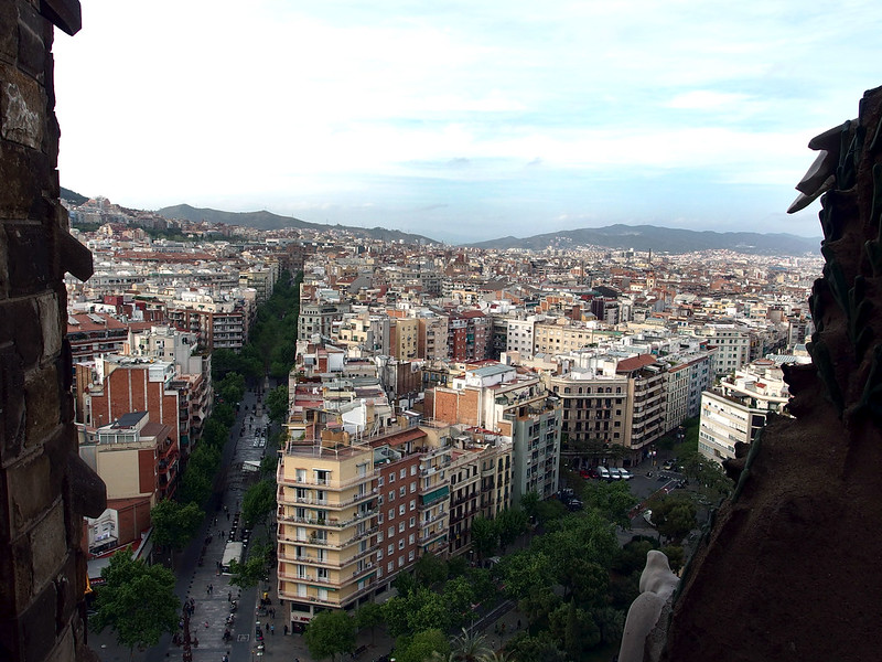 View from La Sagrada Familia