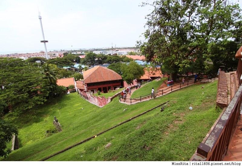 馬來西亞 麻六甲 馬六甲景點 荷蘭紅屋廣場 聖保羅堂St. Paul's Church 馬六甲蘇丹王朝水車 海上博物館27