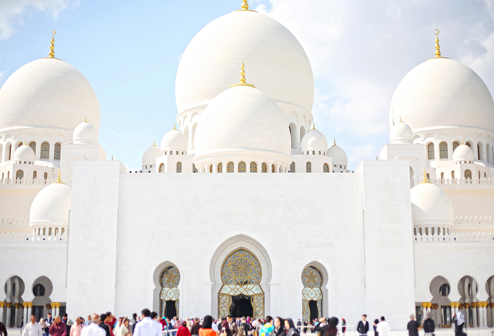 Travel Diary Sheikh Zayed Grand Mosque Camille Tries To