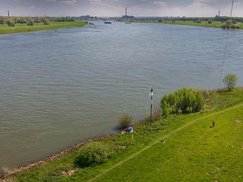 Rhein von oben