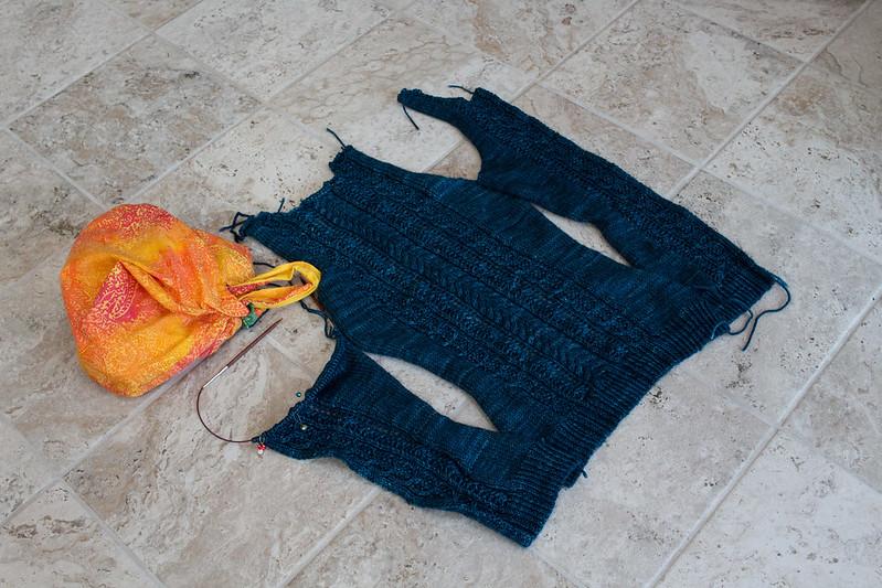 Cardipalooza proto-cardigan (Acorn Trail pattern)