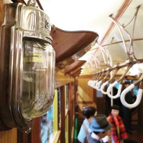 車内 #地下鉄博物館