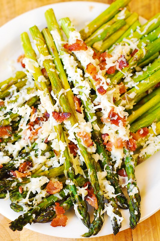 delicious asparagus, veggie side dish, vegetable side dish, vegetables, green asparagus