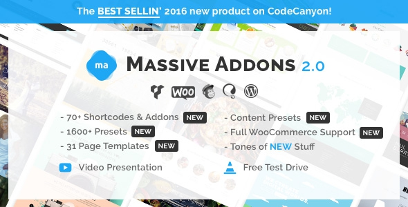 Massive Addons for Visual Composer v2.2