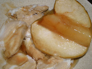 Baked Maple Apple Halves