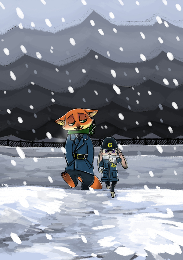 Art of the Day #86 – Snow Day!